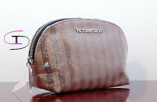 NWT VICTORIA'S SECRET PINK  BLING MAKEUP/COSMETIC  BAG VS 896A