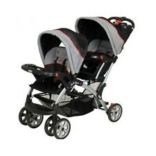Double Stroller Car Seat Baby Infant Sit and Stand Safety Chair Travel Protect
