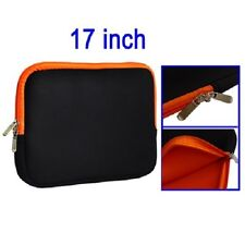 Soft Sleeve Zipper Case bag custodia morbida neoprene cerniere pc portatile 17""