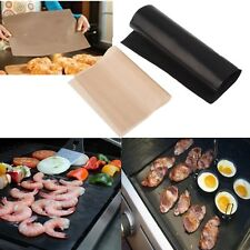 BBQ GRILL MAT As Seen On TV Oven & Baking Nonstick Outdoor Cooking