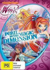 Winx Club: Peril in The Magic Dimension DVD NEW