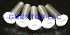 03 04 05 06 CBR600RR BRIGHT WHITE COMPLETE FAIRING BOLTS Screws Fasteners KIT