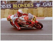 ansichtkaart Yamaha YZR500 1986 #2 Eddie Lawson Spa Francorchamps type 2