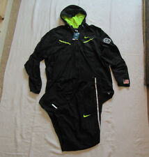 NIKE Training Jacket Pants Set USA OLYMPIC Track & Field Black 3XL / 3XL-T NWT