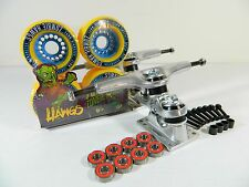 Gullwing Sidewinder II 9.0 Longboard Trucks + Hawgs Zombie 76mm 82A Wheels