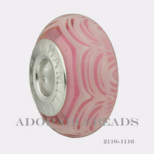 Authentic Chamilia Lace Collection Silver Murano Peony Bead 2110-1116