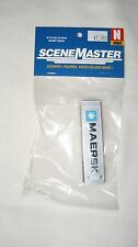 Walthers N 40' Hi-Cube Rib Side Container Maersk #949-8801 New
