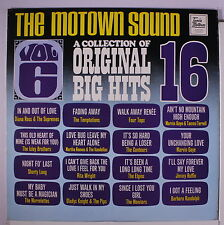 VARIOUS: The Motown Sound Vol. 6 LP (UK, laminated 'backflaps' cover sl cw) rar
