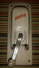 Vintage Koffie Grinder manual wall mount hand crank coffee
