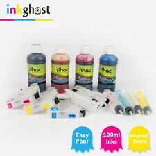 Refillable ink Cartridges & Premium rihac inks compatible wit Brother  MFC-J6520
