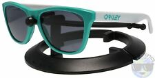 Oakley Frogskins Sunglasses 24-417 Seafoam | Grey | HERITAGE COLLECTION | NIB |