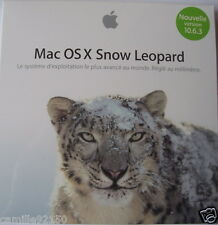 Mac OS X 10.6.3 Snow Leopard DVD Installation MULTILINGUE RETAIL