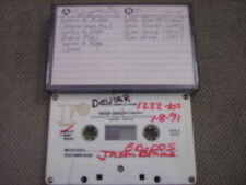 VERY RARE Devier TEST SAMPLE DEMO CASSETTE TAPE Here's A Kiss + Wild Flower r&b