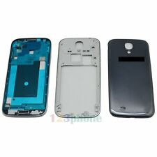 FULL HOUSING COVER + FRAME + BUTTON FOR SAMSUNG GALAXY S4 i9505 #H-417_FULL_BLUE