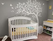 Creative nursery tree wall decals, playroom wall decoration, baby room  KW032