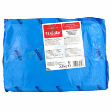 Renshaws Regalice 2.5kg Kilo Ready Roll Icing Sugarpaste Fondant - Single Pack