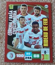 Adrenalyn 2016-17 Ligue 1 Corchia/Basa Civelli/Beria Rideau de fer card Rare NEW