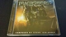 TRANSFORMERS REVENGE OF THE FALLEN SCORE CD STEVE STEVE JABLONSKY FREEPOST