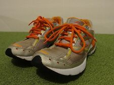 NEWTON Lady Isaacs running shoe sz 8 White/Orange/Silver/Yellow/Red MSRP $149