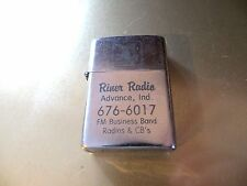 advertising lighter,Riner Radio Advance,Indiana FM Business Band Radios & CB's