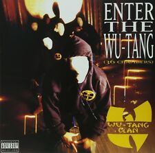 "WU-TANG CLAN "" ENTER THE WU-TANG "" NEW 180 GRAM SUPERIOR AUDIO QUALITY VINYL LP"