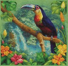 """Counted Cross Stitch Kit PANNA - """"At the source of the Amazon"""""""