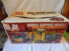 1972 vintage MOBILE SUPPORT VEHICLE Hasbro GI JOE Adventure Team G.I. Joe in BOX