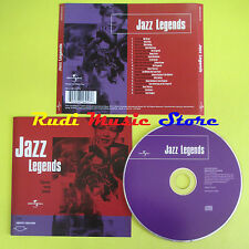 CD JAZZ LEGENDS compilation ARMSTRONG HOLIDAY FITZGERALD (C10) no lp mc dvd vhs