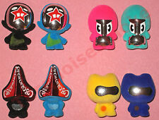 All 4 Rare Most Wanted Gogos SuperStar Series 5 - Gogo's Crazy Bones - Full Set