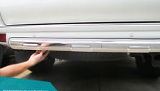 Chrome pearl white under rear bumper cover trim For Toyota Prado FJ150 2010-2016