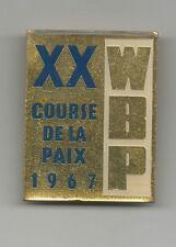 Orig.Pin    XX.Internationale Friedensfahrt 1967 !!    SEHR SELTEN