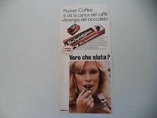 advertising Pubblicità 1978 FERRERO POCKET COFFEE