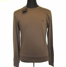L-3269992 New Gucci Olive Green Long Sleeved Sweater T-Shirt Shirt Size US-L