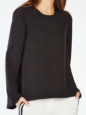 New with tag $158 BCBG Max Azria Tracey Angel-Sleeve B679 Top Sz S