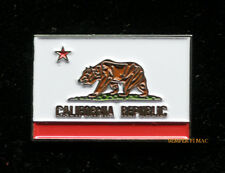 CALIFORNIA REPUBLIC STATE FLAG HAT LAPEL PIN UP GIFT CA BEAR US AMERICAN USA WOW