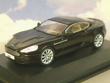OXFORD DIECAST 1/43 ASTON MARTIN DB9 COUPE 2013 FACELIFT IN ONYX BLACK AMDB9002