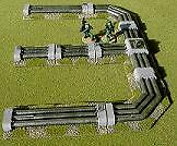 28mm WARGAMES scenari-SCI-FI Pipeline Set