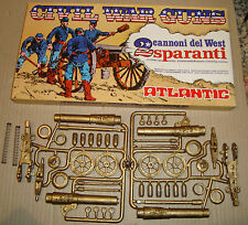 ATLANTIC  691 1/32 CIVIL WAR GUNS 2 CANNONI DEL WEST SPARANTI (SOLDATINI)