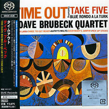 Time Out by Dave Brubeck JAPAN SACD new unopened
