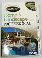 Encore Home and Landscape Design Professional New and Sealed, Punch Software