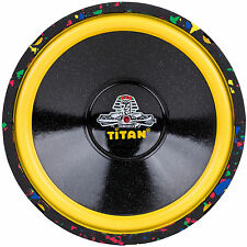 """NEW 10"""" Subwoofer Bass.Replacement.Speaker.4 ohm.yellow.Car Audio Sub.Free Air."""