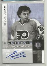 2011-12 Ultimate Collection Hockey Reggie Leach Ultimate Signatures Card  (CSC)