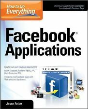 Facebook Applications by Jesse Feiler (2008, Paperback)