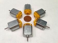 6 pieces 130 DC Hobby Mini Motor 12500 RPM 6V with Varistor for Digital Products