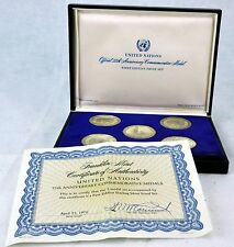 United Nations. Official 25th Anniversary Commemorative Medals. (BI#MK/01072017)