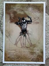 Marvel Mark Brooks Vitruvian Symbiote Spiderman Print Cover Art What If? Other