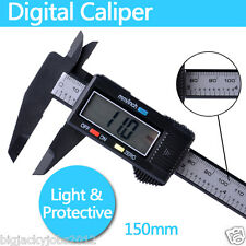 "NEW 150mm 6"" Electronic LCD Digital Vernier Caliper Gauge Micrometer Tool 05"