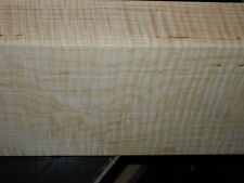 "8/4 SUPER HEAVY CURLY TIGER MAPLE    lumber   38"" x 6 1/4"" x 1 7/8+"""