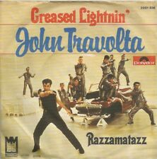 John Travolta - Greased Lightnin' / Razzamatazz (Vinyl-Single 1978) !!!