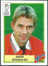 PANINI EURO 2000-BLACK BACKS- #238-NORWAY-NORGE-ANDRE BERGDOLMO